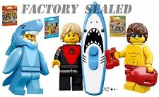 LEGO 71018 Minifigures Series 17 Pro Surfer 71011 Shark Suit Guy 71007 Lifeguard