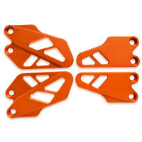 LQ Set Front and Rear Heel Protective Cover Guard FOR KTM DUKE 125 250 390 17-19