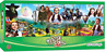 Wizard Of Oz Panoramic Puzzle, Movie Collectible, Fun Challenge, Game, 1000pc