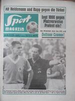 SPORT MAGAZIN 41 A- 10.10. 1966 Bremen-Bayern 4:1 1860-Dortmund 1:2 Essen-96 3:0