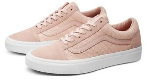 VANS OLD SKOOL WOVEN CHECK LOW UNISEX MEN SIZE 7 / WOMEN SIZE 8.5 SHOES PINK NEW
