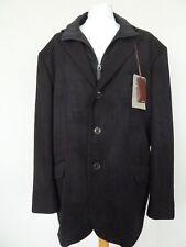 "M&S Collezione Brown 2 in 1 Jacket Chest 44"" Short Detachable Cord Storm Flap"