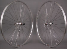 Sun M13 Silver 700c Sealed Bearing Road Bike Wheels 126mm fits Vintage Bikes