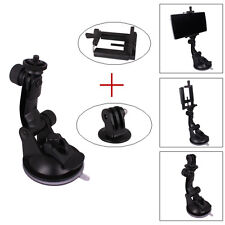 Accessorie Suction Cup Mount+Phone Holder+Tripod Adapter For Gopro Hero 4 2 3 3+