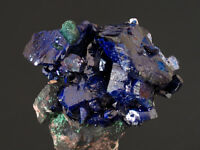 3955 Azurit azurite Milpillas Sonora Mexiko mexico mineraux specimen Stufe