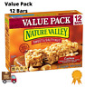 Granola Bars Nature Valley Cashew Sweet & Salty Nut Value Pack 12 Bars 14.8 Oz