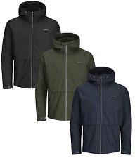 JACK & JONES Core New Mens Hooded Jacket Lightweight Enzo Sporty Casual Coat