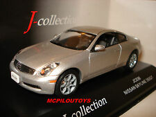 J Collection JC036 Nissan Skyline 350GT Silver to the / Of 1 /43°