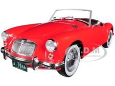 "1959 MG A 1600 ROADSTER MKI RED ""ELVIS PRESLEY"" 1/18 DIECAST BY GREENLIGHT 13524"