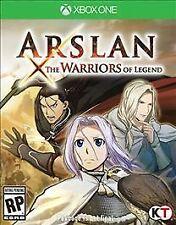 Xbox One 1 Arslan The Warriors of Legend NEW Sealed Region Free Warrior USA