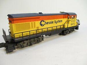 Lionel 8470 C&O Chessie U36B Diesel Loco O Gauge X4515