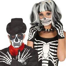 Adult Size Skeleton Bone Gloves Halloween Fancy Dress Accessory