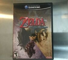 Replacement Case (NO GAME) Legend Of Zelda: Twilight Princess- Nintendo Gamecube