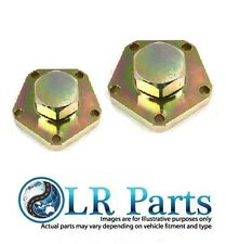 LAND ROVER PAIR OF HEAVY DUTY DRIVE FLANGES TF859 TERRAFIRMA