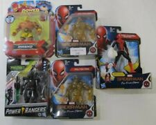 Lot of 5 Spider Man Power Rangers Action Figures