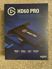 ELGATO HD60 PRO  GAME CAPTURE Stream and Record in 1080p 60FPS PCIe