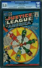 Justice League of America # 6 US DC 1961 1st Amos Fortune CGC 5.0 VG-FN
