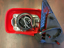 NEW VW POLO 95-00 6N LEFT ELECTRIC DOOR WING MIRROR FLASH RED