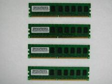 NEW! 8GB (4x2GB) Memory PC2-5300 ECC UNBUFFERED RAM Dell Poweredge 830