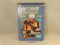 SKY DIVER - ATARI 2600 VCS 7800 - VIDEOGIOCO VINTAGE ANNI 80 - COMPLETO