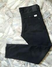 REPLAY Herren Jeans / Hose W34 L32 Schwarz  / SLIM / NEU / Vintage Look