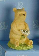 Classic Winnie the Pooh April Birthstone Figurine 12132