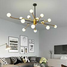 14 heads LED glass Chandelier Glass Ceiling Lamp Lighting Pendant Light Fixtures