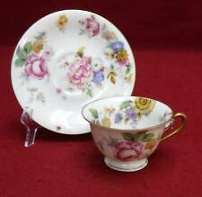 """ROSENTHAL Germany The SUNRAY pattern Demitasse Cup & Saucer Set - 2"""""""