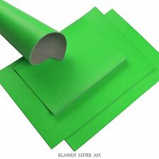 Cuir de buffle néon Vert 2,7 mm d'épaisseur A3 Format Réel Cuir de vachette 16