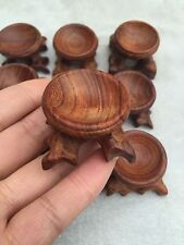 only one 48-50mm Diameter Rosewood Stand for Sphere & Egg