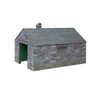 Bachmann 44-0101 OO-9 Gauge Slate Built Engine Shed