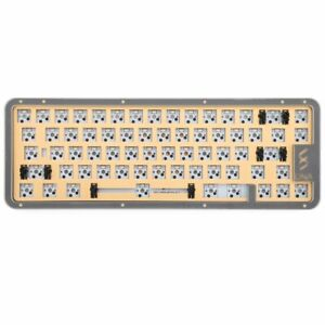 DNA65 65% KIT CUSTOM MECHANICAL KEYBOARD KIT PCB CASE HOT SWAPPABLE SWITCH