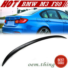 PAINTED BMW F30 328i 320i 3-Series Rear M3 Trunk Spoiler ABS NEW 2016