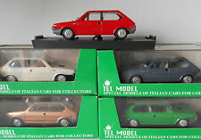Scottoy Tel Model Fiat Ritmo Red White Gold Grey or Green 1/43 White Metal