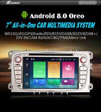 """Autoradio Erisin ES7409FS 7"""" Android 8.0 DVD GPS per Ford Mondeo Focus S/C-Max G"""