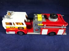 D2-83 MAJORETTE FIRE ENGINE -OLD TIME FIRE ENGINE MADE IN FRANCE - NO BOX - 1:47
