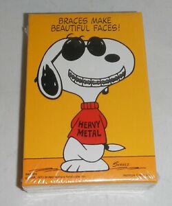 Vintage 1971 Springbok Peanuts Snoopy Braces Make Beautiful Faces 100Pc Puzzle