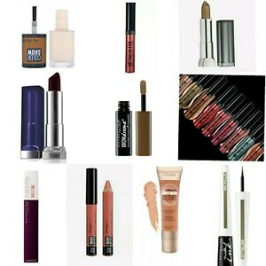 Maybelline Beauty Products Collection- Long Lasting Creamy Look-Multibuy savings