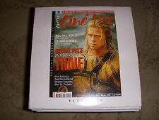 CD PROMO BANDES ANNONCES FILM CINE LIVE 79 05.2004 BRAD PITT TROIE PUB STARSKY