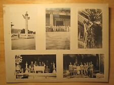 ANTIQUE CHINA PEKING 1912 AMERICAN FLAG MARINES TEMPLE ART GOD BUDHHA MEN PHOTOS