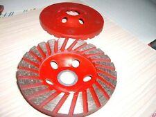 "5"" Diamond (12 Pieces) Grinding Cup Wheel Concrete Stone Granite lapidary repair"