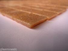 Glasmosaik Mosaik Fliesen Matte Dusche/Pool heller Orange Ton Pool Dusche