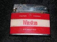 VINTAGE WINSTON CIGARETTES PENGUIN LIGHTER