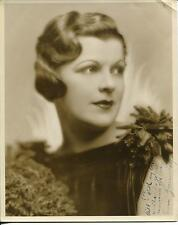 ANN GREENWAY ACTRESS BORN IN EGYPT IN FILMS 20's & 30's SIGNED PHOTO AUTOGRAPH