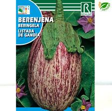Berenjena Listada de Gandia ( 3 gr / 600 semillas ) seeds - jaspeada gandía