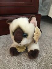 """10"""" Miyoni by Aurora Himalayan Siamese Cat Plush Stuffed Animal New"""