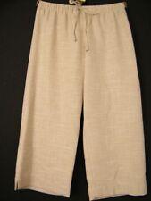 Damen-Caprihosen aus Viskose Damenhosen Hosengröße Größe 44