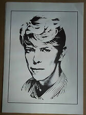 Vintage David Bowie poster 1980's