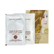 Nature Republic Hair Bleach Color Cream Kit Hair Dye Lightening