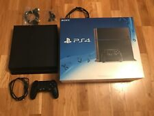 Sony Playstation 4 Jet Black 500 GB PS4 inkl. ovp Controller